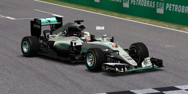 F1模拟联赛第06站维伦纽夫,恭喜冠军张家霖Alick