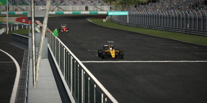 F1模拟联赛UFO第13站马来西亚大奖赛,恭喜冠军朱瓅人@leroy