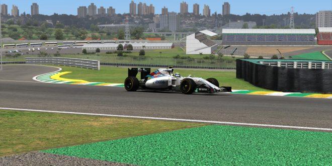 F1模拟联赛UFO第15站巴西大奖赛,恭喜冠军小辉@bob