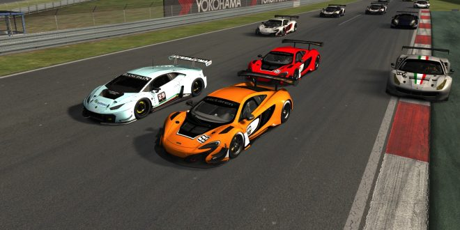 RWC 尾翼杯AC-GT3小联赛第二站(nurburgring)赛报