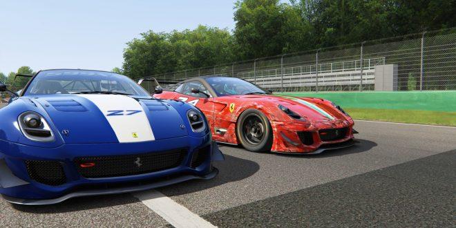 2019 Assetto Corsa 红蓝对抗赛 NPC 揭幕站(Monza)赛报